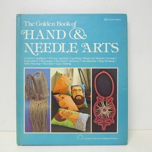 70S The Golden Book of Hand and Needle Arts book